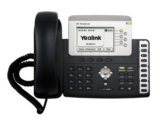 SIP电话机T28P