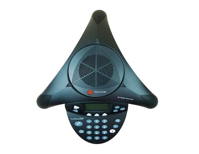 会议电话机SoundStation2W