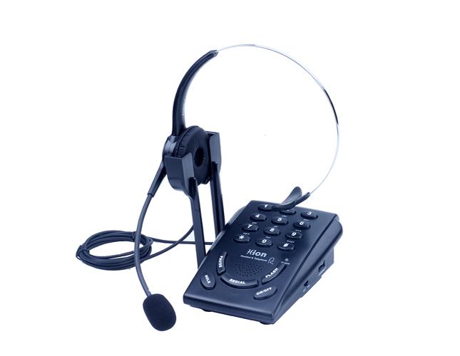北恩VF600耳麦电话机