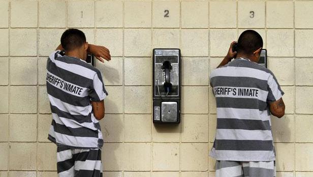 监狱服刑人员打电话