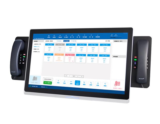 EH236触摸屏电话调度控制台