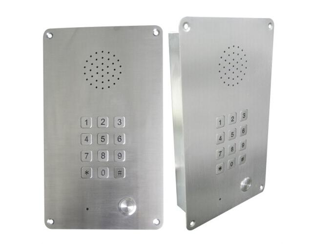 洁净室无尘车间IP对讲应急电话机