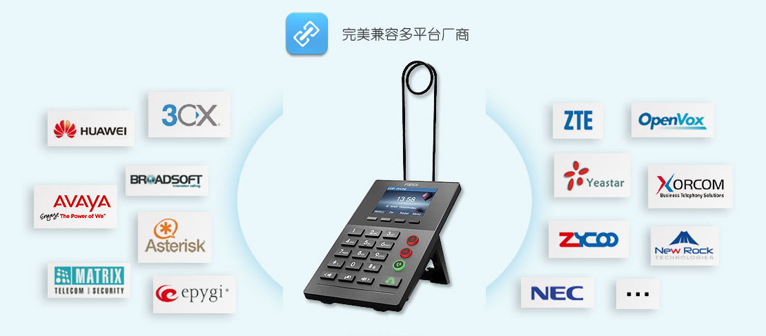 fanvil方位X2IP电话机兼容性